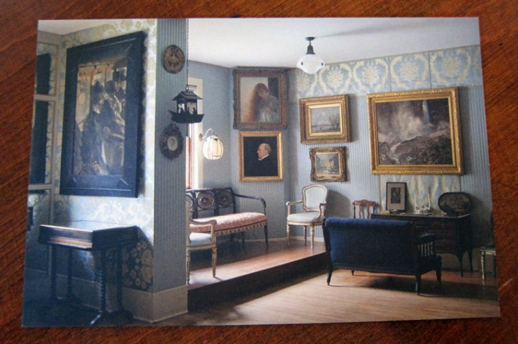 Postcard from the Isabella Stewart Gardner Museum