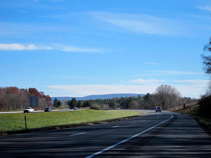 On the road: Pennsylvania