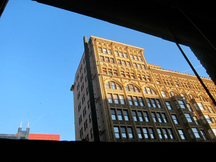 The upper floors of Chicago's Fisher Building (© Celia Her City)