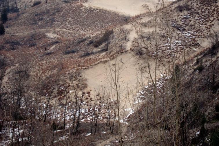 Dune slope, © 2013 Celia Her City