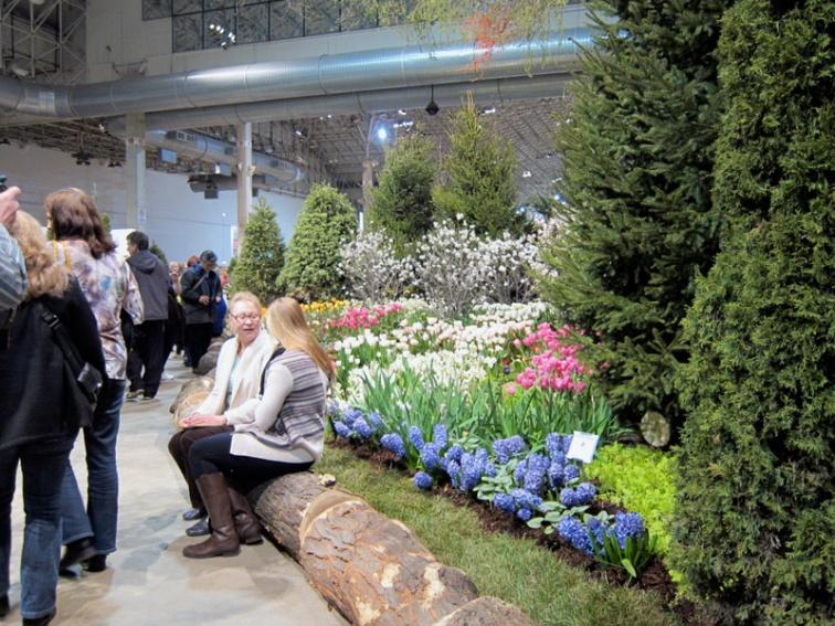 Photo-op, Chicago Flower and Garden Show, © 2013 Celia Her City
