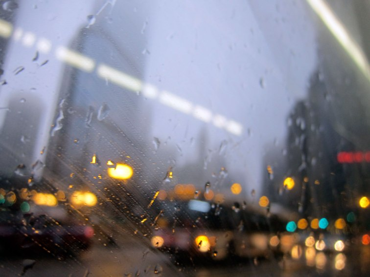 Rush hour around the Wrigley Building, © 2013 Celia Her City