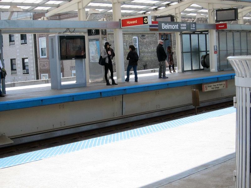 The platform, © 2013 Celia Her City