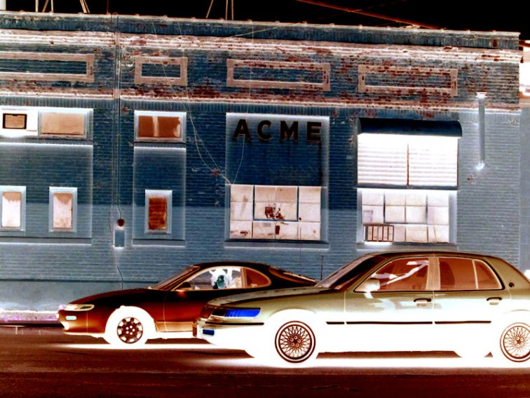 Acme factory xray (Minneapolis), © 2013 Celia Her City