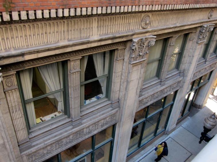 Oblique view of the LaSalle Atrium Building, © 2013 Celia Her City